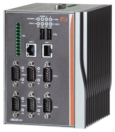 rBox101-6COM Промышленный компьютер