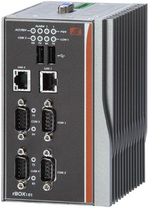 rBox201-4COM Промышленный компьютер