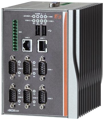 rBox201-6COM Промышленный компьютер