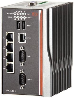 rBox204 Промышленный компьютер